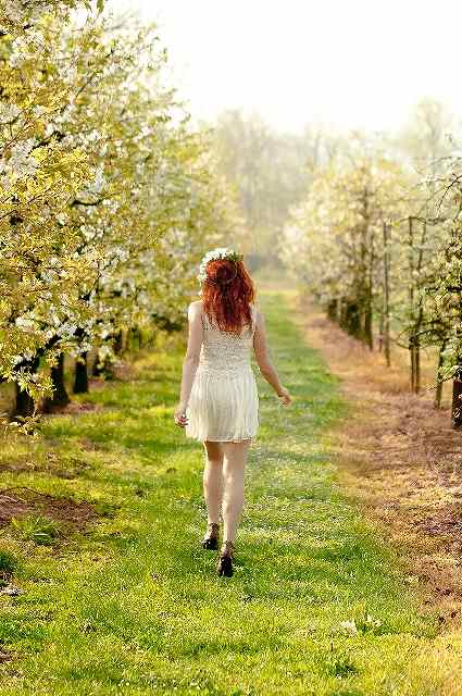 s-walking girl