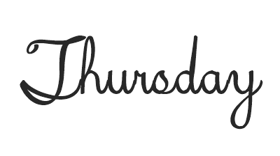 Thursdaycursive1